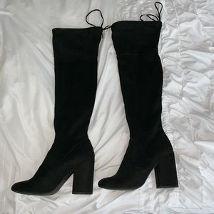 DSW Shoes - Knee High Suede Boots